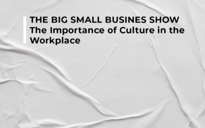 THE BIG SMALL BUSINESS SHOW – The Importance of Culture in the Workplace